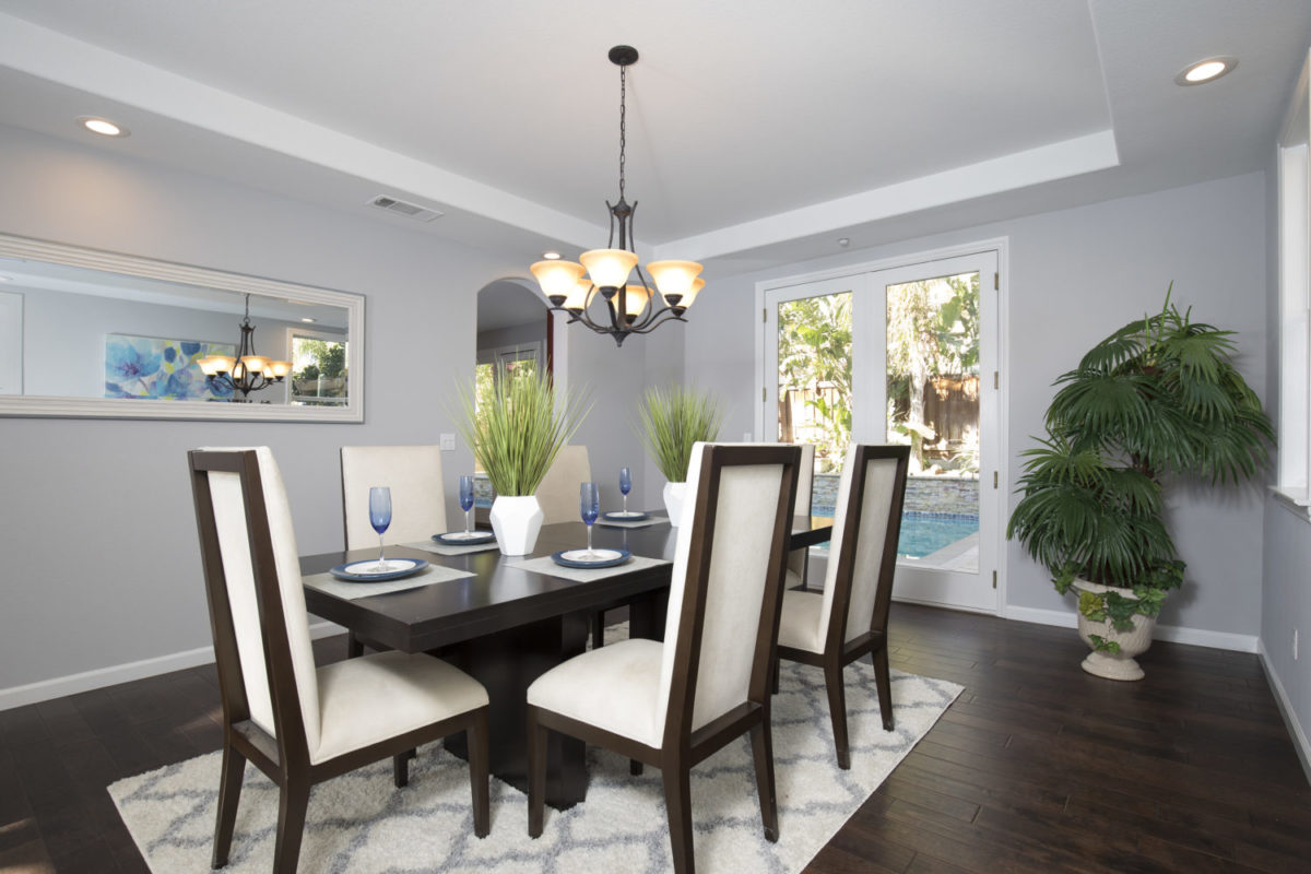 Brentwood  CA Dining Room Real Estate Photo